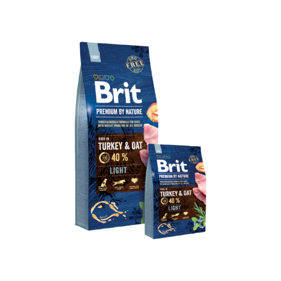 Brit Premium by Nature Light 2db 15kg