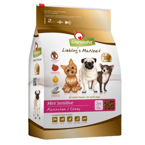 GranataPet Liebling's Mahlzeit Mini sensitive nyúl kutyatáp 2 kg