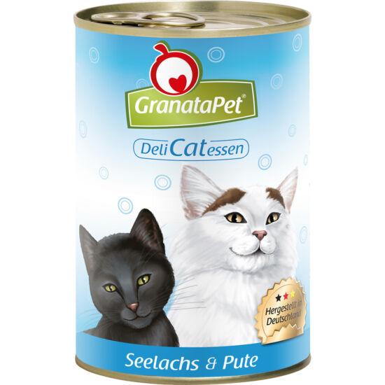 GranataPet DeliCatEssen lazac és pulyka konzerv