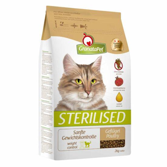 GranataPet DeliCatessen Sterilised ivartalanított macskáknak